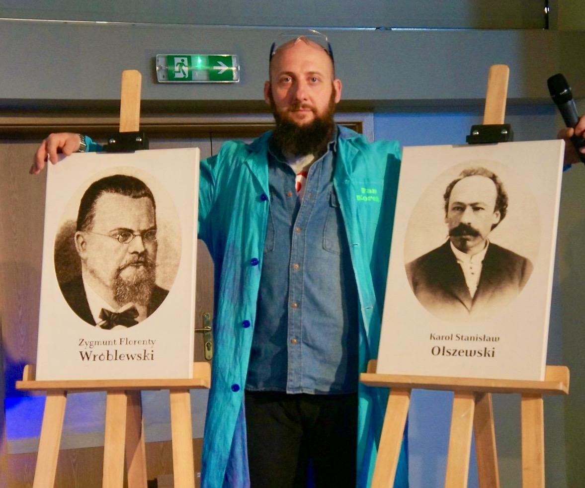 Portrety Zygmunta Wróblewskiego i Karola Olszewskiego