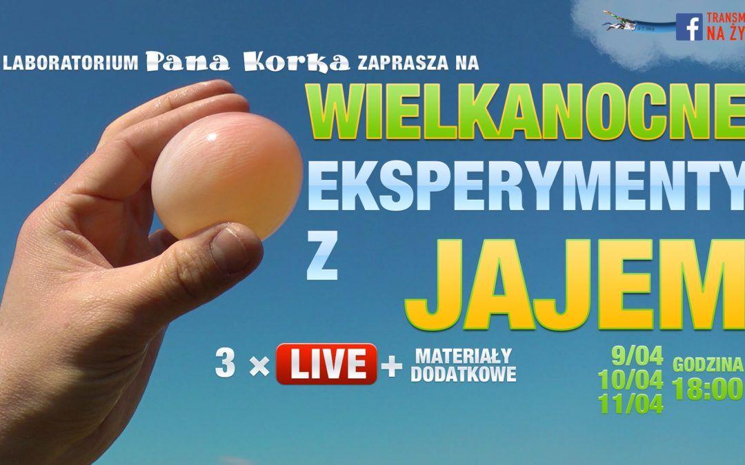 Wielkanocne eksperymenty z jajem online